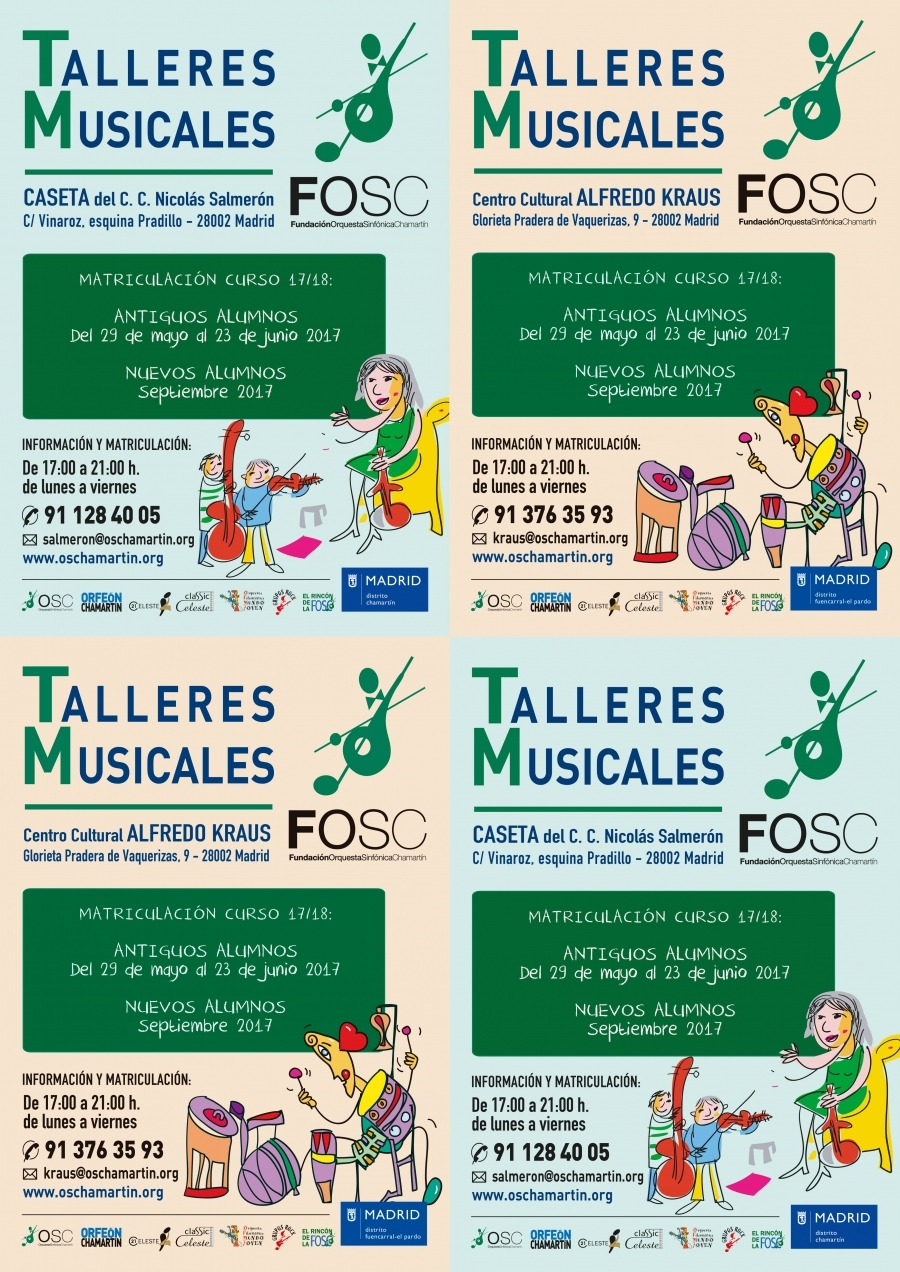 Talleres Musicales FOSC 2017/18